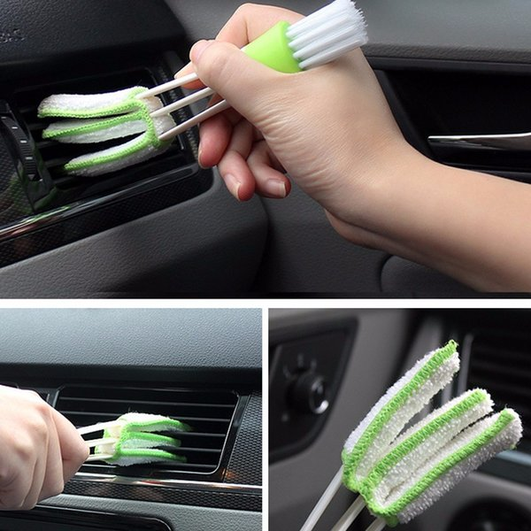 best selling Microfiber Cleaning Brush For Air-condition Blinds Duster Car Care Tools Computer Detailing Cleaner tool Washer