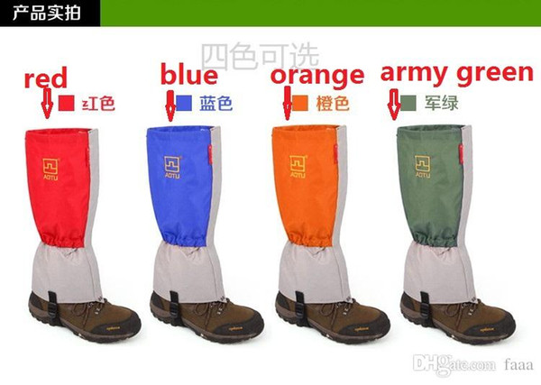 Wholesale-(Fast delivery! )galoshes overshoes high-grade winter shoe covers waterproof cycling shoe covers mens snow boots covers XT004