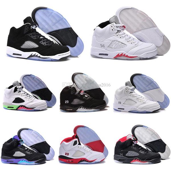 new style c251d 52747 2019 2017 Retro 5 V Basketball Shoes Sneakers Men Women Retros Shoes  Authentic J5s Sports Homme Zapatos Replicas Cheap Sale From Nba2017, $50.76  | ...