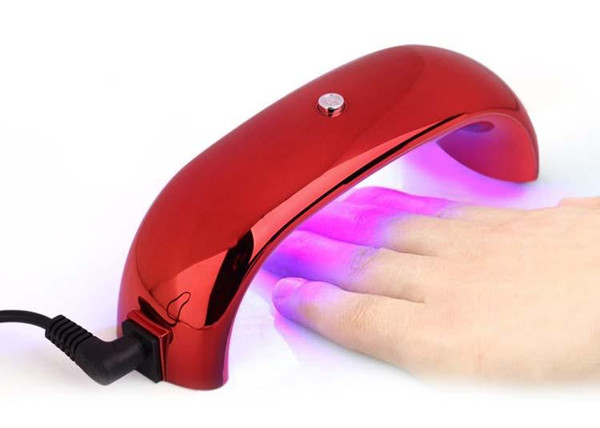 New Style 2017 Nail Lamp Rainbow lights Light therapy machine LED gel lamp 9W Quick Dry LED UV Nail Dryer.