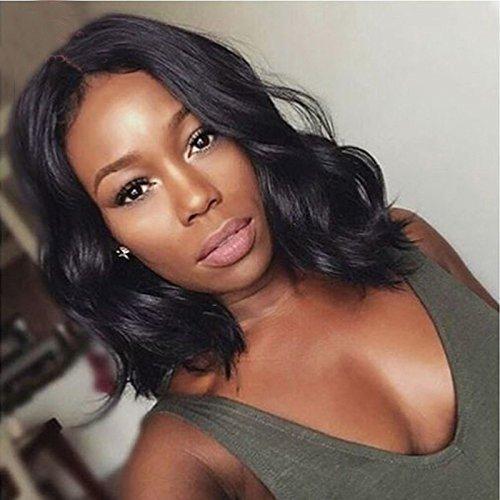 Short Human Hair Bob Wigs For Black Women Glueless Lace Front Bob Wigs Brazilian Body Wave Virgin Hair Short Cut Full Lace Wigs