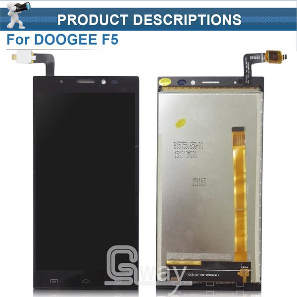 Vente en gros - Doogee F5 LCD Display + Ecran tactile 100% Testé Écran Digitizer Assemblée de remplacement Pour Doogee F5 5.5 Pouce Cell + Outils gratuits