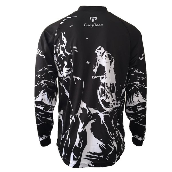 top popular 2017 New Arrival Motocross Jersey MX MTB Off Road Jersey Mountain Bike Downhill Bicycle Shirts & Tops motorcycle jersey 2019