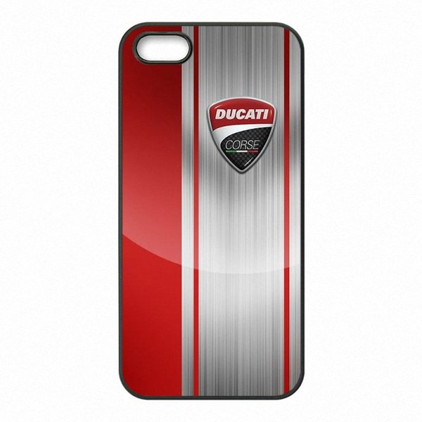 Ducati Moto Logo Phone Covers Shells Hard Plastic Cases for iPhone 4 4S 5 5S SE 5C 6 6S 7 Plus ipod touch 4 5 6