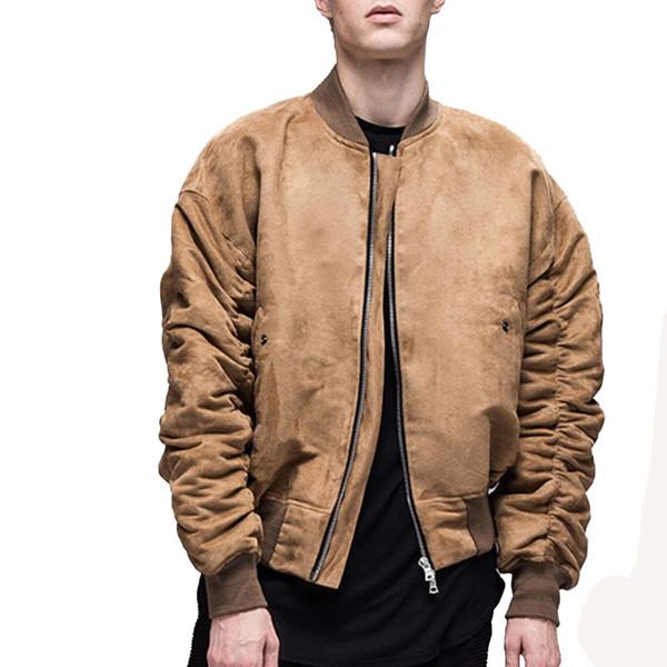 2017 new high street camo Giacca Hip Hop Suit Pullover Winter Jacket Uomo Cappotto moda uomo Giacche casual mens cappotto