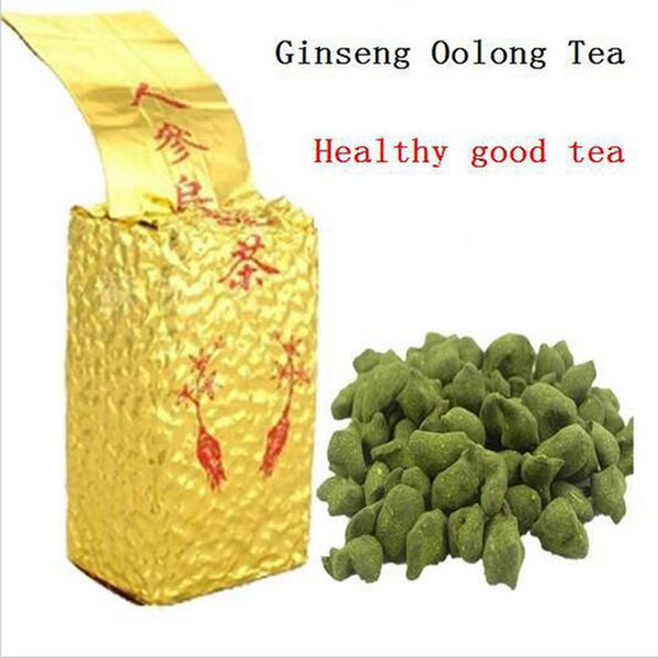 top popular 250g Free Shipping Famous Health Care Tea Taiwan Dong ding Ginseng Oolong Tea Ginseng Oolong ginseng tea +gift Free shipping 2019