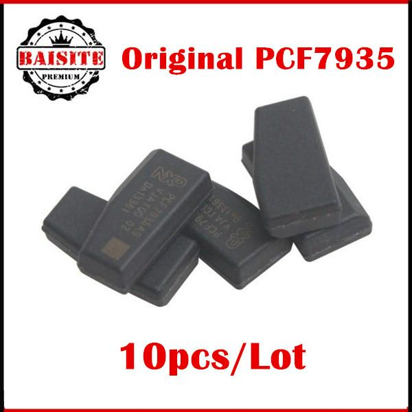 Factory price!!10pcs/lot original id44 id 44 transponder chip for bmw pcf7935 blank transponder chip free shipping via dhl