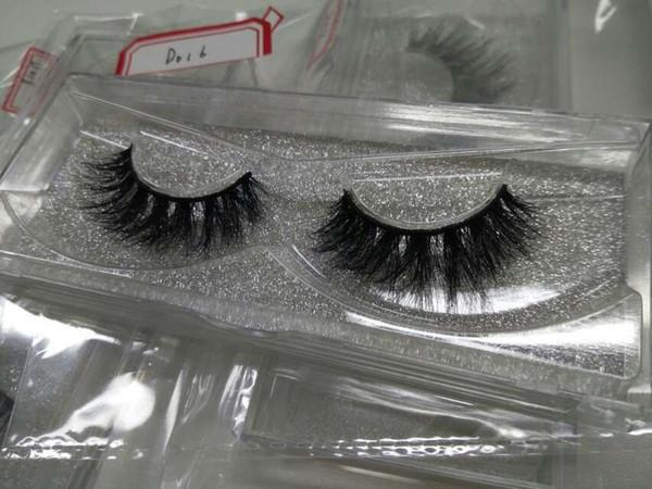 Mink Lashes 3D Lashes Long Lasting Natural Mink Eyelashes 1 pair Luxury Hot Sale Eye Lashes for make up beauty