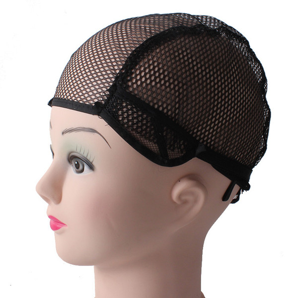 Making Caps Hair Care & Styling Beauty & Health 10pc 2 Ends Through Heat Resistant Stretchable Weaving Black Nude Snood Hair Net Wig Cap