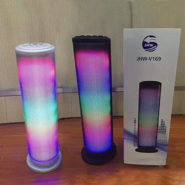 Altoparlante JHW-V169 Diffusore musicale senza fili Display a LED senza fili 3.0 Altoparlante stereo ESR Altoparlante esterno MIS132