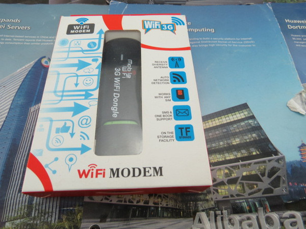 Wholesale- Mobile Hotspot 3G USB wifi dongle multi sim card slot for car