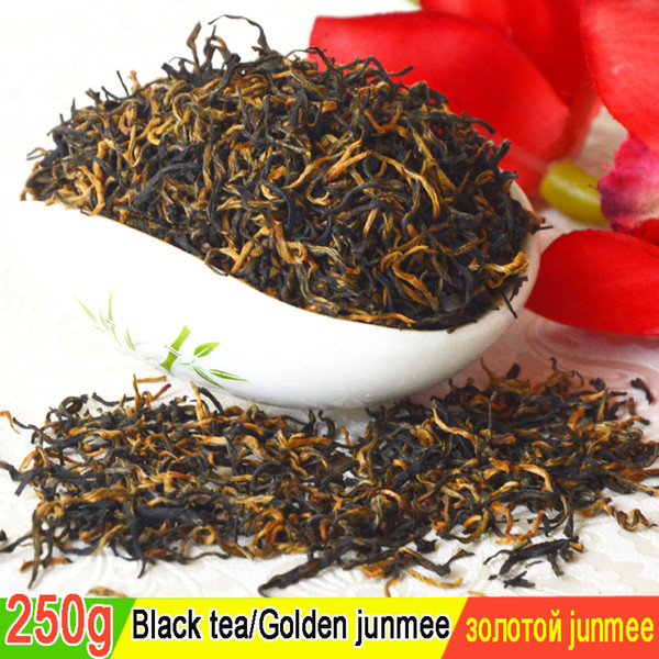 sale good tea the hand jin junmei wuyi black tea 2019 spring new tea authentic 250g +gift