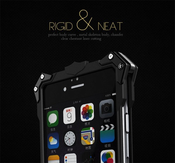 FOR Iphone X Thor Aluminum Heavy Metal Phone Case For iPhone7 Plus/7 P Hard Skin Back Cover