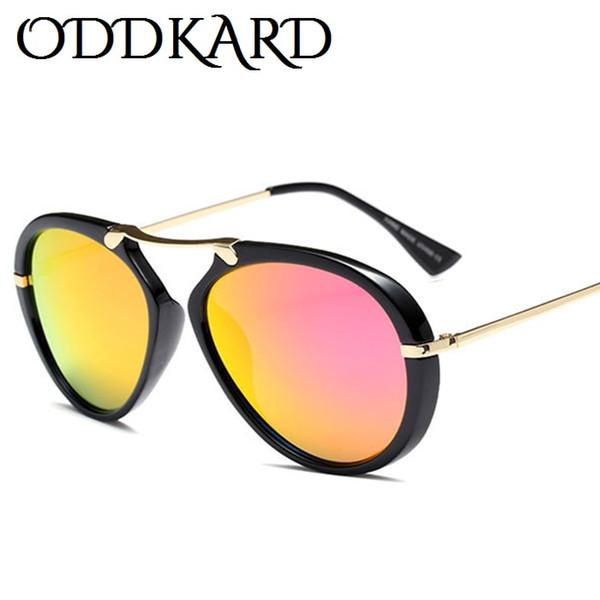 ODDKARD Smoky Hot Fashion Gafas de sol para hombres y mujeres Vintage Brand Designer Classic Street Casual Piloto Gafas de sol Gafas de sol UV400