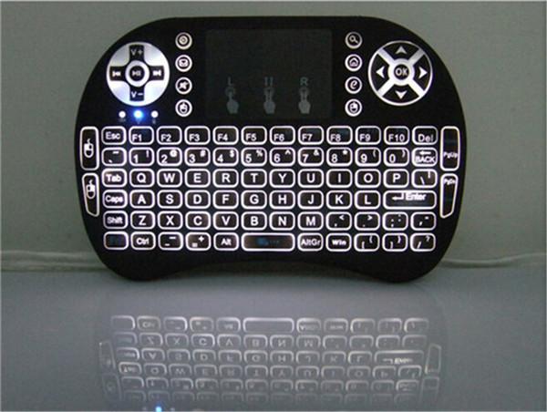 Rii Air Mouse Drahtlose Handheld Tastatur Mini I8 2,4 GHz Touchpad Fernbedienung Für MX CS918 MXIII M8 TV BOX Spiel Spielen Tablet Mini PC 10 stücke