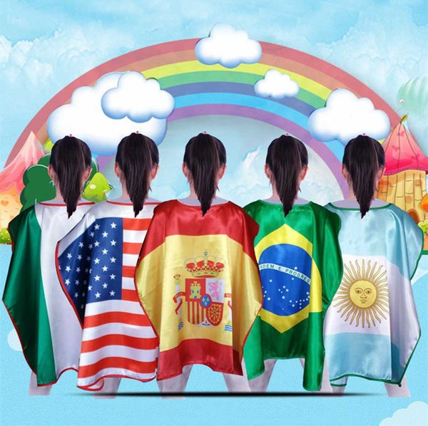 Christmas In Portugal 2019.2019 Brazil Argentina Portugal Mexico Italy Germany In The United States The National Flag Cape For The Fans Party Christmas Halloween Cosplay From