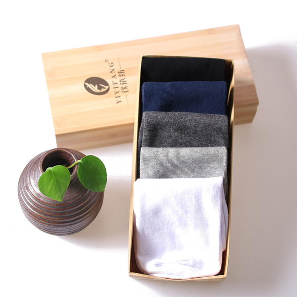 best selling 10 Pairs of 5 Colors One Size Pure Cotton Sport Men Socks, Anti-odor and Absorbent Sock Slippers for Outdoors