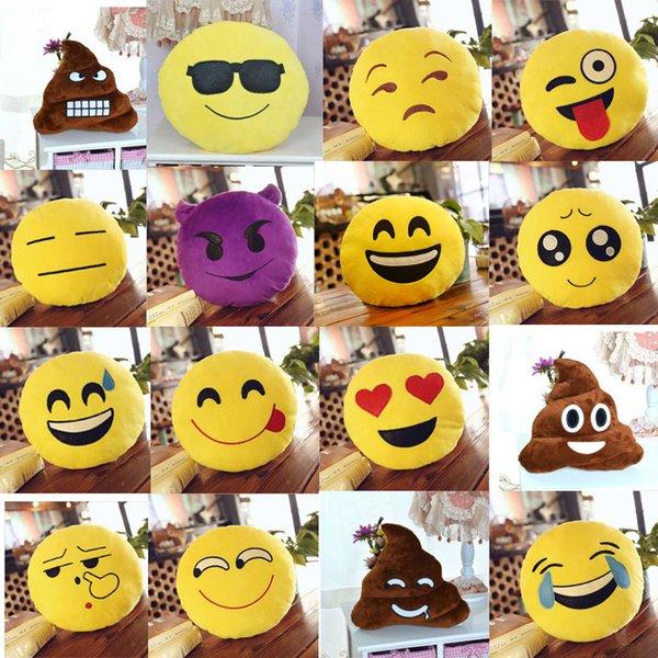 Acheter Date Emoji Oreillers Jouet Smiley Mignon Doux Dessin Animé Doux Poupées En Peluche Emoji Peluches Plus Poupée 35cm Peluche Peluche Ems