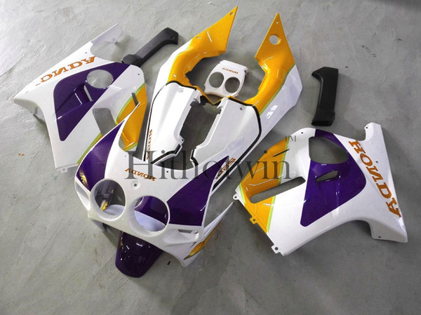 23colors+Gifts white purple Injection mold ABS Fairings For honda CBR250RR MC19 1988-1989 MC19 88 89 Aftermarket Motorcycle