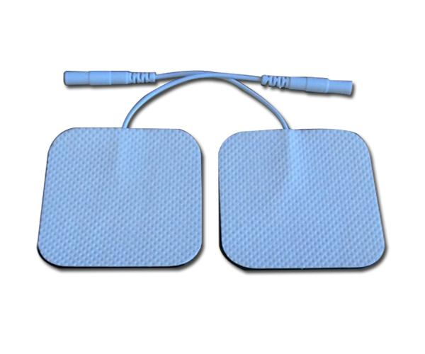 30 pcs non - woven cloth backing support mini tens ems body massager reusble electrode pads high quality