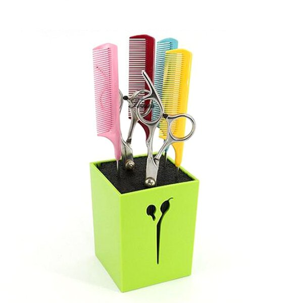 New Hair Scissors Holder Fashion Salon Professional Scissor Set Storage Box High Quality Free Shipping 4 colors