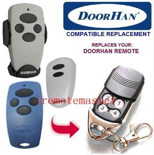 Doorhan remote / transmitter 433.92mhz frequency remote control garage door opener hot sell free shipping 12V 27A