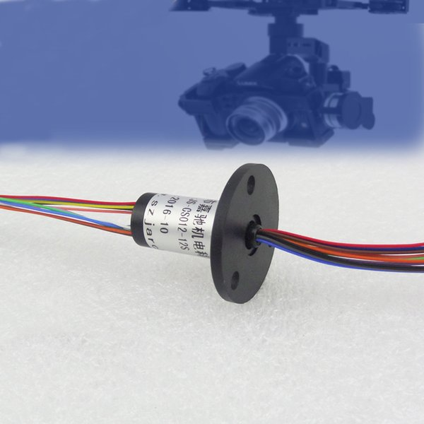 Mini Capsule Slip Ring FPV RC Drone Slip Rings 12 Channel Electrical Collection Rings for High Speed Ball