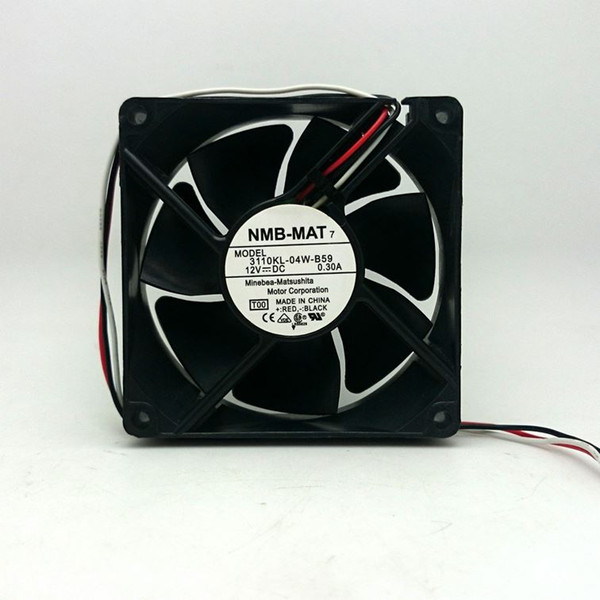 80mm fan For Nidec T80T12MS1A7-57 T07 8cm 8025 12V axial cooling fan 3800RPM