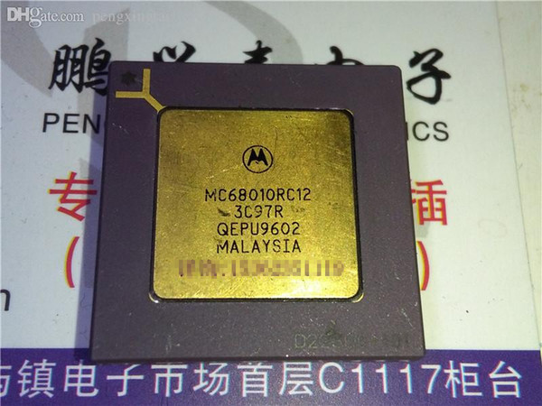 MC68010RC12 , 32-BIT, 12 MHz, MICROPROCESSOR, CPGA68 pins . Electronic Component , MC68010 . Gold plated ceramic package integrated circuit