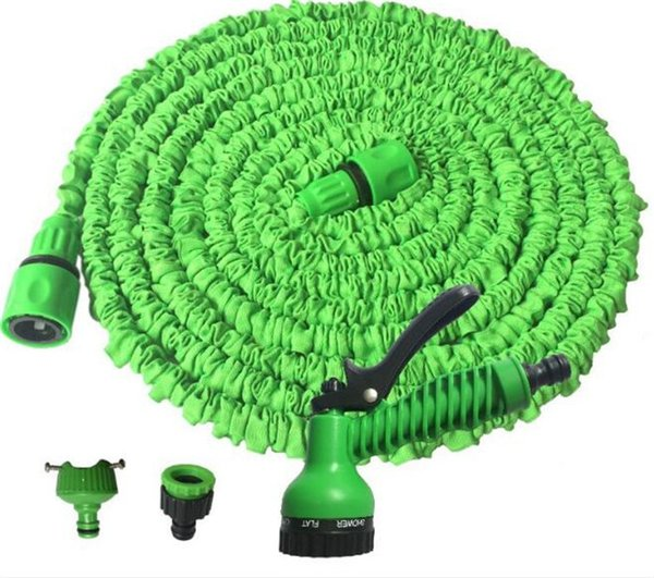 top popular 100FT Expandable Flexible Garden Water Hose With Spray Nozzle Head 2 Colors G014 2019