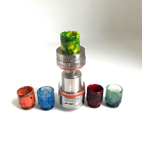Vape resin drip tip for Original Smok TFV8 Tank 6.0ml TFV8 Cloud Tank With V8-T8 V8-Q4 Coils Best e cigarettes drip tip