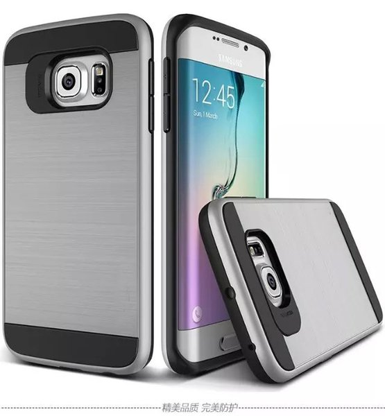 Luxury Slim Armor Case for Samsung Galaxy S6 S7 Edge S5 A7 A5 A3 J5 J7 2017 Hybrid Shockproof PC+TPU Case Cover A510F