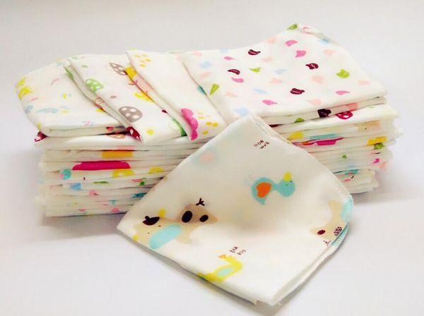 Baby NewBorn Infant Gauze Muslin Square Cotton Bath Wash cloths bibs Towel free shipping