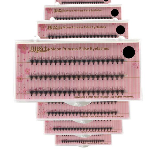 Wholesale- 60 pcs/lot Artificial natural long Individual Cluster eyelashes Professional  Grafting fake false eyelash made in china