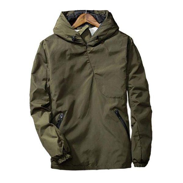 Mens Bomber Jacket Spring Basic Coats reflective hooded windbreaker jackets Long Sleeve Tactical Hoody Pullover Quick Dry