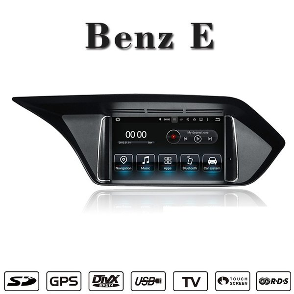 Android 7 1 Navigation Car DVD Player Car Stereo For Mercedes Benz E W212  2009 2012 2013 2014 2015 2016 Support Wifi GPS BT Radio Mirrolink Dvd  Player