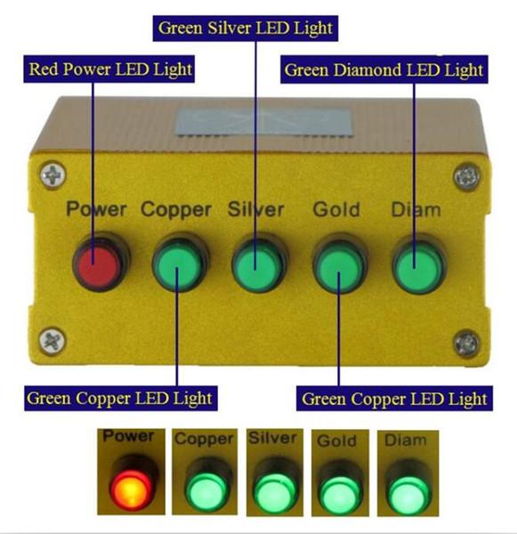 Détecteur de métaux Gold Deep Underground Earth Deep Underground Gold Le plus populaire Détecteur de diamants Long Range Gold AKS