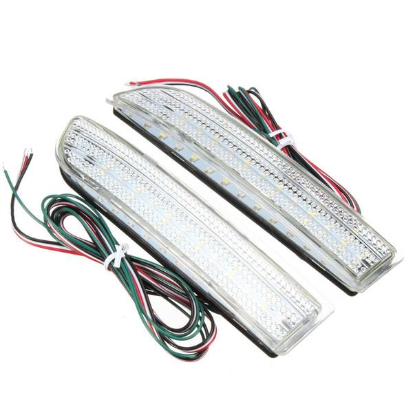 Stop del freno LED 2 pezzi del respingente posteriore del riflettore di backup Esecuzione Fanale posteriore per Toyota RAV4 Scion xD