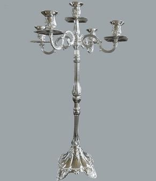 Wholesale Elegant Fashion sliver mental Flower Vase, Tall Flower Vase for Table, Flower vase for wedding decoration