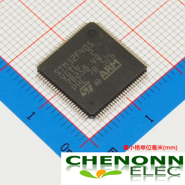 Free shipping STM32F405VGT6/LQFP-100_14x14x0... 100% New Original Brand ST Best quality and competitive price fast delivery