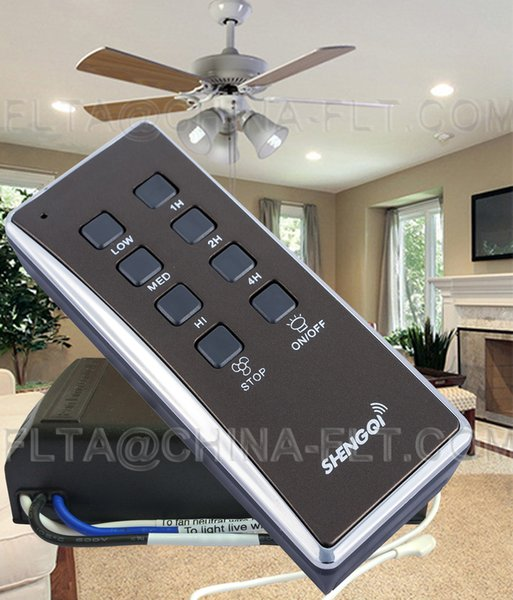 Ceiling fan light remote control switch with 3 SPEED CONTROL, TIMER, Learning function able for hunter fan