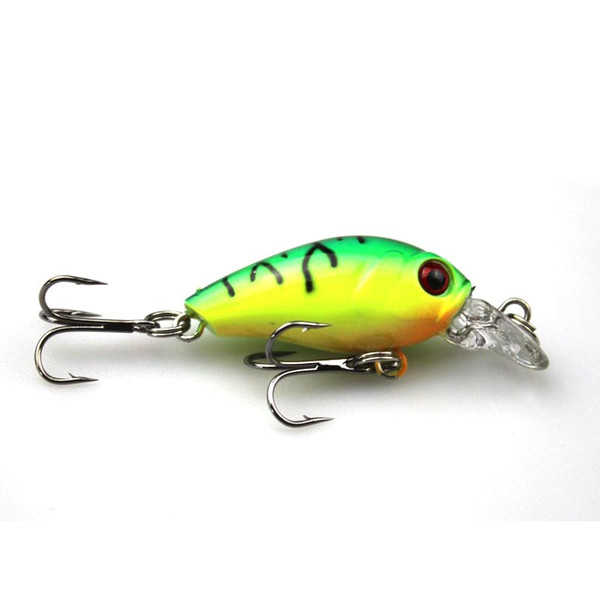 4.5cm 4.2g Swim Fish Fishing Lure Artificial Hard Crank Bait topwater Wobbler Japan Mini Fishing Crankbait lure