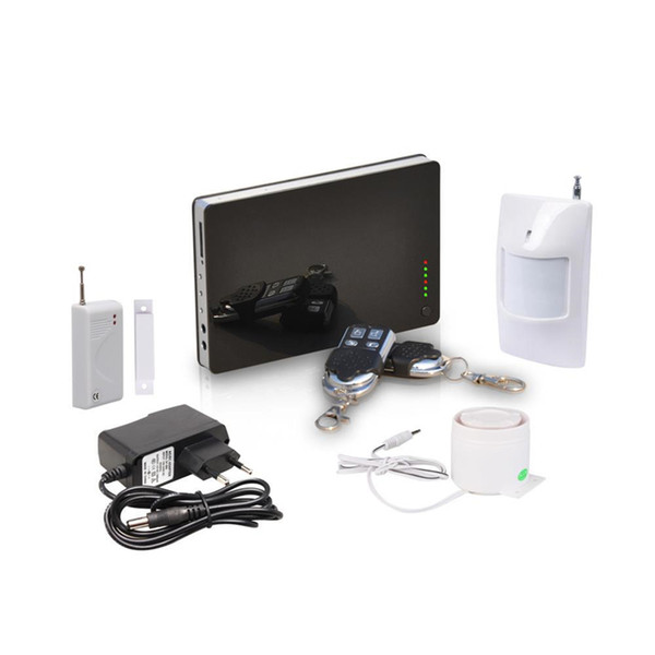 New iOS & Andorid Apps Supported, Smart Wireless Wired Burglar GSM Home Security Alarm System, Remote Control by SMS & Calling