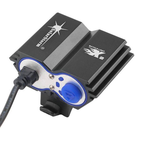 solarstorm X2 Lumens XM-L U2 LED Cycling Bike Bicycle Head front Light flash light