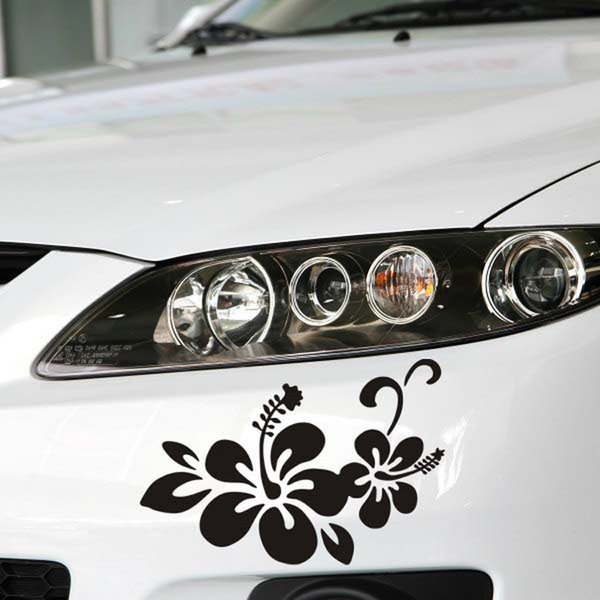 Plant flowers cover scratches optional body stick wholesale insurance after the front bumper stickers manufacturer of