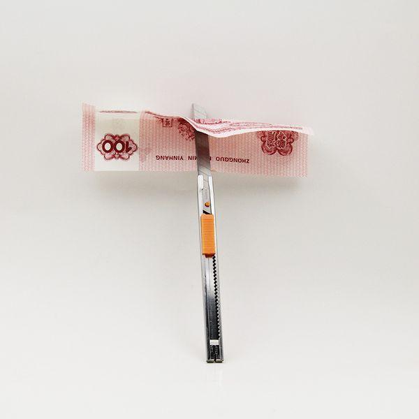 The Blade(Masuda),Knife thru Bill,Magic Tricks,Fun Magic,Stage Magic Props,Close Up,Accessories 82131