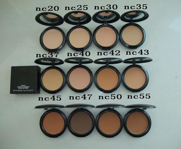 top popular High quality! HOT NEW Makeup NC Studiu Fix Face Powder Plus Foundation 15g 2021