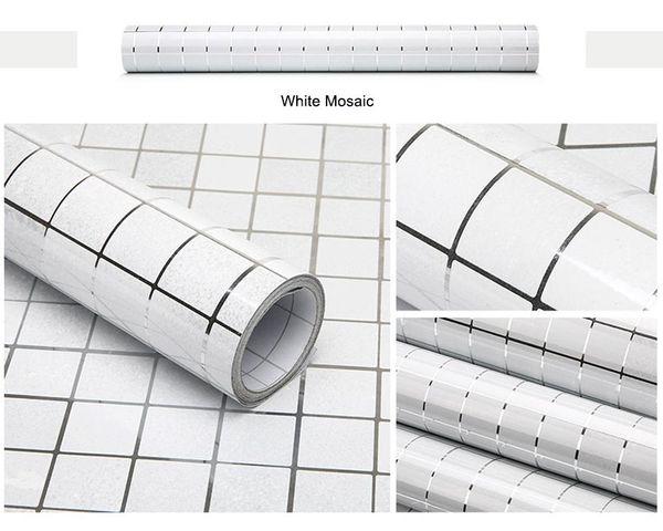 Mosaico branco
