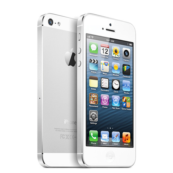"Original Unlocked Apple iPhone 5 IOS Cell Phones 4"" 1G 64GB Used Phone 1080P WCDMA Smartphone GPS WIFI Mobile Phone"