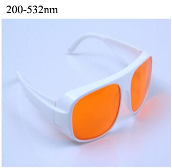 532nm (laser Nd yag)